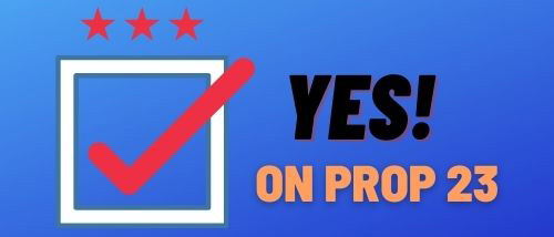 YES PROP 23