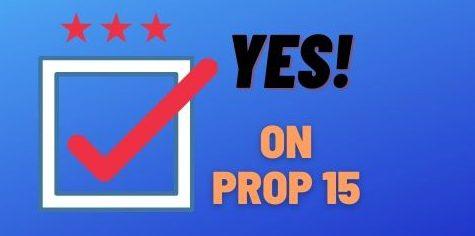Prop 15: increase school funding
