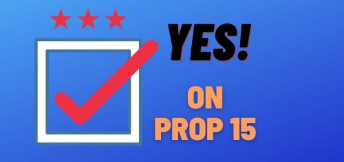 Yes on Prop 15