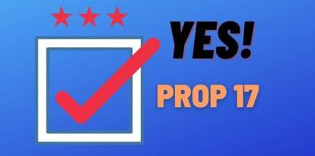 Yes on Prop 17