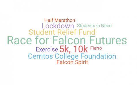 Race for Falcon Futures is a virtual marathon to help raise money for Cerritos College Foundation