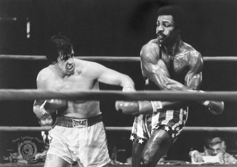 """Rocky,"" starring Sylvester Stallone and Carl Weathers, received 14.7% of the vote. Photo credit: MGM/TNS"