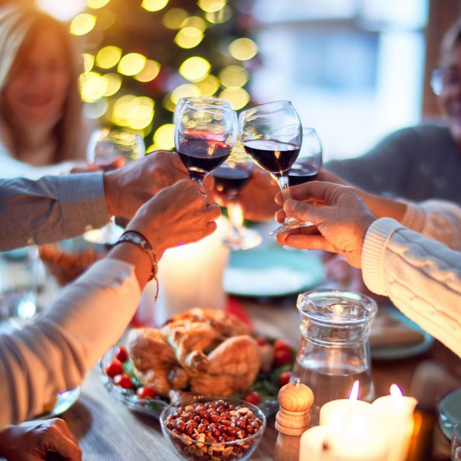Enjoy holiday traditions while remembering to stay socially distant.