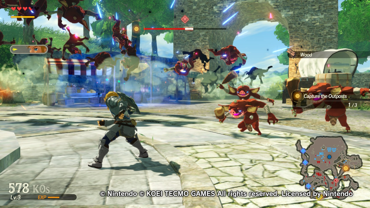 Hyrule Warriors Age Of Calamity Demo Impressions A Great Prequal Ready For Release Talon Marks