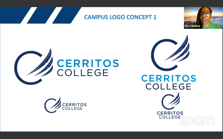 The winning design for Cerritos College