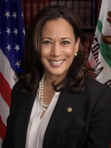 Vice President-Elect Kamala Harris during her time as the Senator of California.