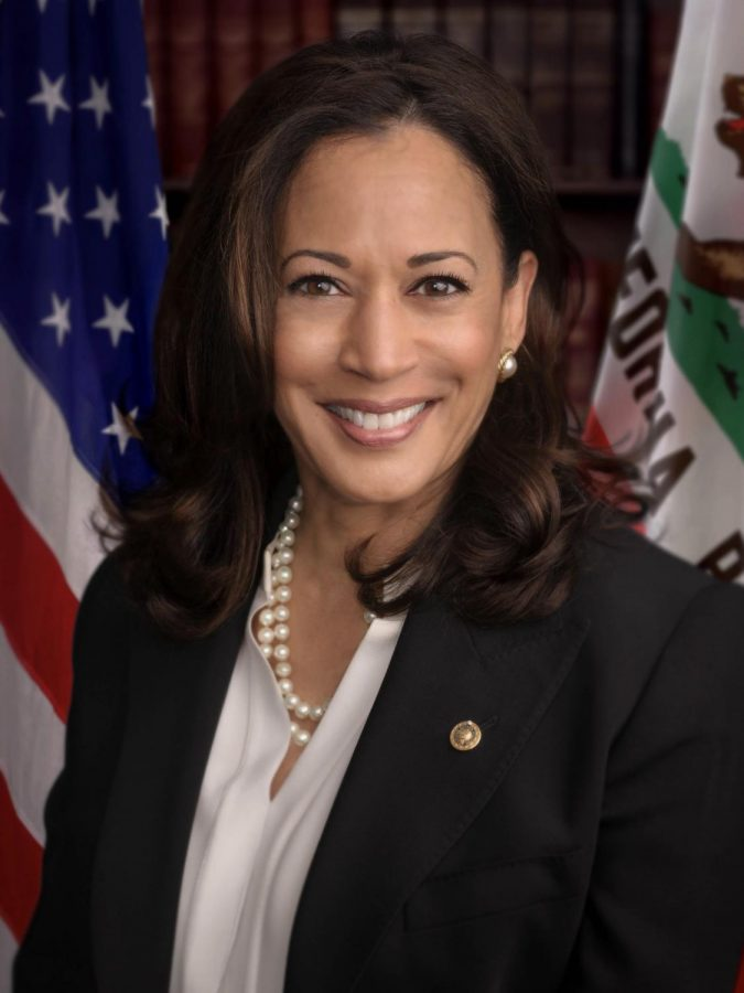 Vice President-Elect Kamala Harris during her time as the Senator of California. Harris is the first female, first Black and first South Asian vice president-elect.