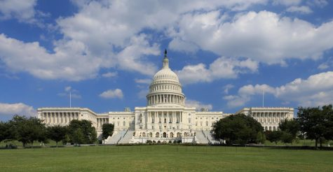 The United States Capitol viewed from it