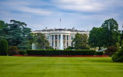 Crowds surrounded the White House on Saturday Nov. 7 while President Trump was golfed at his Virginia club. The final expected results were called by major news outlets. Photo credit: David Everett Strickler & unsplash.com