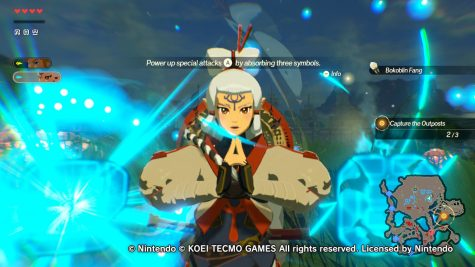 Many characters can utilize a special attack bar that can take out loads of enemies with a single button. This is Impact special attack where she summons a lot of spirits that leave a bomb barrel to explode. Photo credit: Oscar Torres