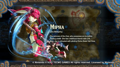 Mipha is one of the royal children of the Zora Tribe. She specializes in healing allies and dealing a ton of damage with water-based attacks.
