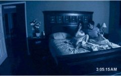 An iconic scene from the first Paranormal Activity where Katie and Micah experience a haunting. Photo credit: Image credit: Blumhouse Productions/Paramount Pictures