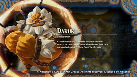 Daruk is the Champion of the Goron tribe and the defender of them. He uses a clobber weapon to deal heavy damage with tough defense and damaging special attacks.