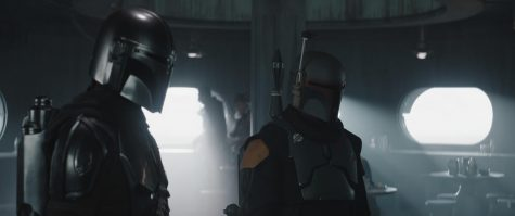 (L-R) The Mandalorian (Pedro Pascal) and Boba Fett (Temuera Morrison)  in Lucasfilm's THE MANDALORIAN, season 2, exclusively on Disney+. © 2020 Lucasfilm Ltd. & ™. All Rights Reserved. Photo credit: Walt Disney Company & Lucasfilm Ltd.