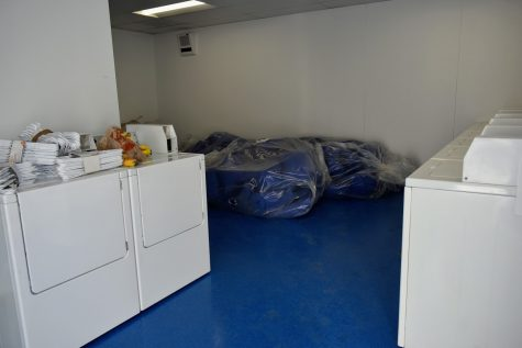 The living center will disinfect all belongings to ensure no pathogens infect the facility. Homeless people will also be given clean clothes when they arrive.