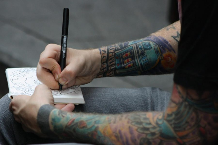 Are you scared of the sound of the machine or the legit process of getting tattooed? Either way, with a good artist those won't matter after you're flaunting you're proud tattoo. Photo credit: istolethetv on Flickr.com