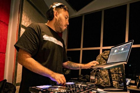 LA based DJ Hazeus, is one of many DJs who have resorted to virtual live sets amid the pandemic. He hosted a livestream fundraiser featuring other local artists and DJs, with proceeds going to families affected by Covid-19 on Nov. 27, 2020.