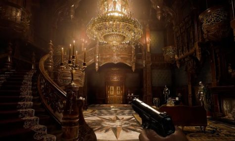 Resident Evil Village is a horror/action game and is the 8th sequel to the series. Players get to control Ethan(protagonist of RE7) as he goes through the castle in search of his daughter. Photo credit: Capcom Unity/Capcom, Co., Ltd.