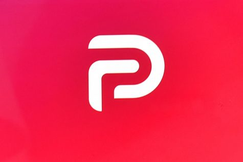 "Shown here is the Parler logo. A District Court judge in Seattle ruled that Amazon's cloud-computing division was within its rights to boot Parler from its servers. Judge Barbara Rothstein opined that forcing Amazon to get Parler back online goes against the public interest, given ""the kind of abusive, violent content at issue in this case, particularly in light of the recent riots at the U.S. Capitol."" Photo credit: Anthony Behar/Sipa USA/TNS"