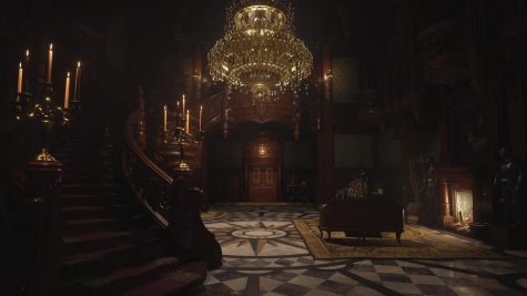 A look at the main hall. It's one of the areas that players have the chance to explore in the Maiden demo.