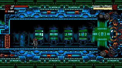 A boss battle in a train, likely a callback to Resident Evil 2. The boss looks intimidating but is actually really easy once you learn how to dodge it.