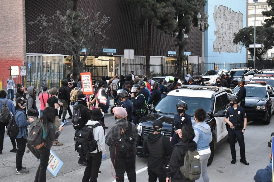 The+LAPD+interfered+with+a+peaceful+Women%26%238217%3Bs+Day+protest+on+March+8%2C+as+mothers+of+police+brutality+victims+demanded+the+officers+responsible+be+held+accountable.