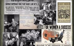 Some of the publications from the era wrote stories about the woman's movement.  This was a part of a PowerPoint presentation in honor of Woman's History Month, March 2021.