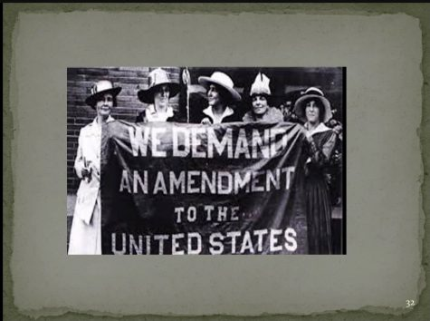 Woman's History Month 2021 celebrates the accomplishments of women for the past 100 years. This includes women's right to vote.