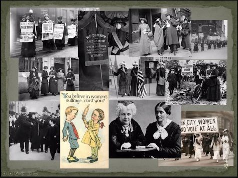 Women's groups began organizing and fighting for a woman's right to vote. An amendment to the constitution was ratified in August of 1920 giving woman the right to vote.