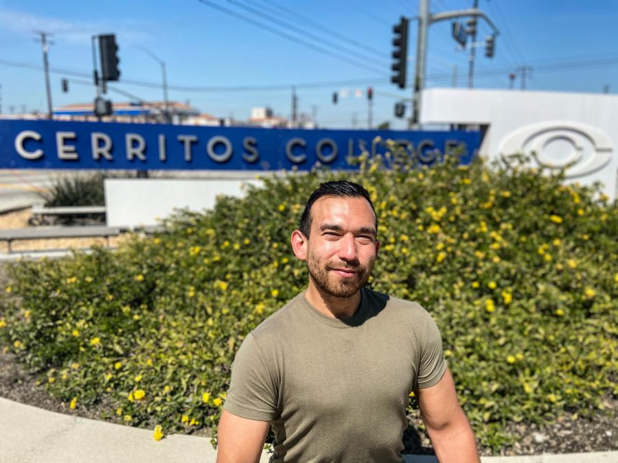 The Cerritos College student hopes to transfer in Fall 2022. He is ready for Cerritos College courses to return to campus when the time comes. Mar. 18 2021.