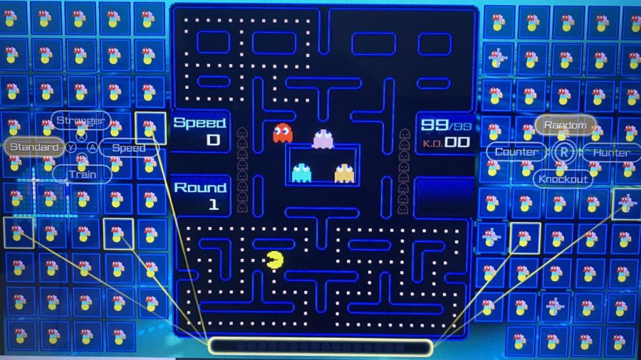 Pacman 99 is a battle royale-style game taking 99 players into a game of Pacman. Become the last Pac standing to win the entire game. Photo credit: Oscar Torres