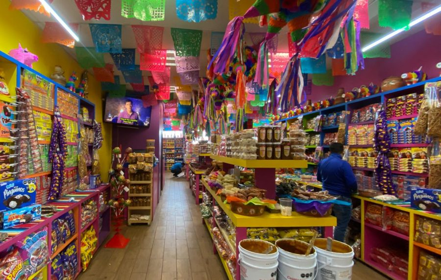 Mercado Hidalgo, or Hidalgo Market, is another busy center where shoppers can find fresh fruits and vegetables, Mexican cuisine, and candy. Mexico is known for its