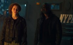 (Center): Karli Morgenthau (Erin Kellyman) in Marvel Studios' THE FALCON AND THE WINTER SOLDIER exclusively on Disney+. Photo courtesy of Marvel Studios. ©Marvel Studios 2021. All Rights Reserved. Photo credit: Marvel Studios & Walt Disney Company