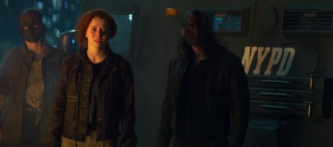 (Center): Karli Morgenthau (Erin Kellyman) in Marvel Studios