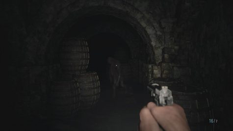 Towards the latter half of the demo, players explore the dungeons of the castle. Many of the castle's denizens are featured here, often scaring the player by appearing out of the darkness.