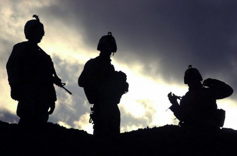Three US Army (USA) Soldiers from 1st Battalion (BN), 505th Parachute Infantry Regiment (PIR), Task Force Panther, 82nd Airborne Division (AD), Kandahar Army Airfield, Afghanistan (AFG), pause on top of a hill before proceeding towards their remain over night (RON) site on the outskirts of Shinkay Village, Afghanistan (AFG), after completing Operation PANTHER QLIMAX. PANTHER QLIMAX is designed to prevent the re-emergence of terrorist activities in the Zabol Province of Afghanistan during Operation ENDURING FREEDOM. Photo credit: US ARMY PHOTO BY SSG LEOPOLD MEDINA JR. 021219-A-1797M-034/ Flickr