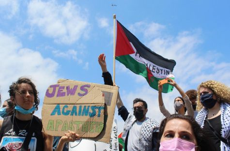 Hundreds of Jews marched in solidarity with Palestinians on May 15. Many Jews voiced their opposition to the violence against Palestinians citing similarities to the South African Apartheid.