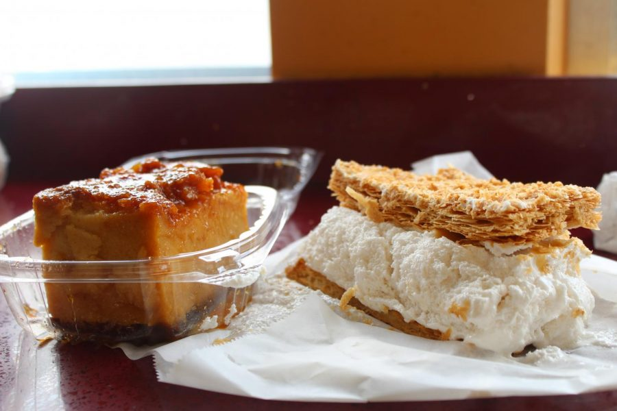 Pastries and baked goods are very popular in Cenral America. Boudin (left) and miljojas (right) are two of the most commonly consumed deserts and some of Panaderia El Salvadors specialties. April 25, 2021