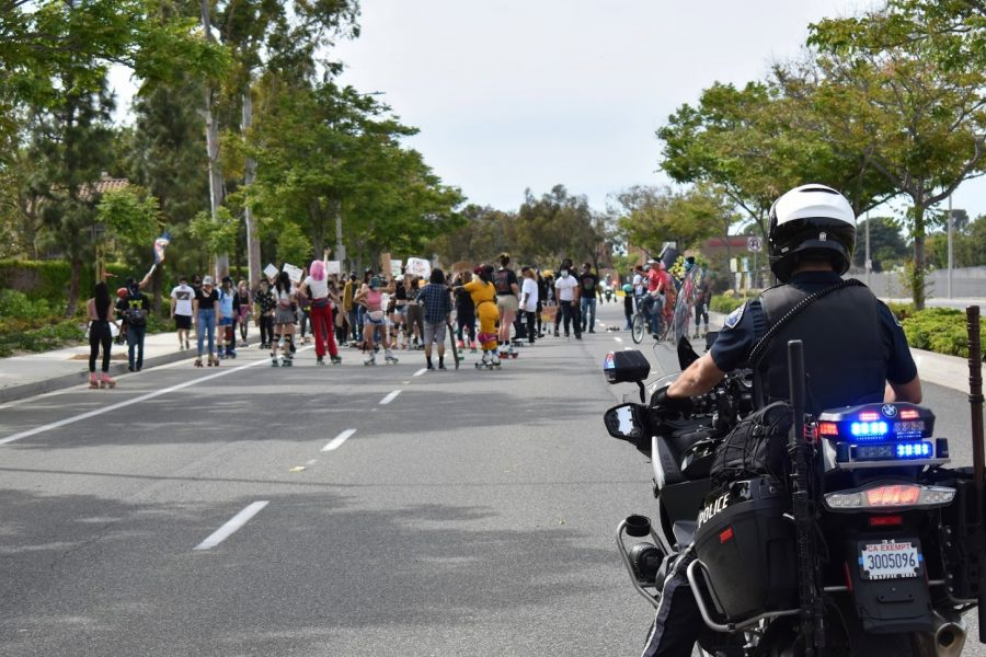 Skate+to+End+Hate+demonstration+was+held+at+Tustin+Legacy+Skatepark+on+May+1%2C+the+first+day+of+the+Asian+American+and+Pacific+Islander+Heritage+Month.