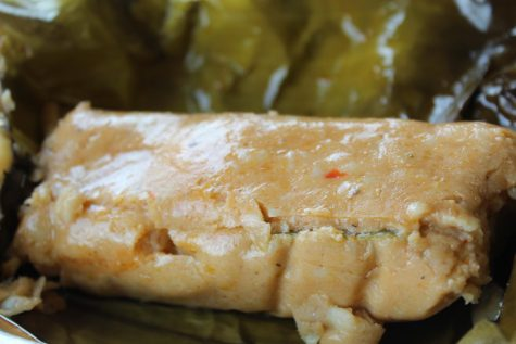 Panaderia El Salvador, 4015 Beverly Blvd, is well-known for its Central American Tamales. In El Salvador, tamales are wrapped in large banana or plantain leaves. April 25, 2021