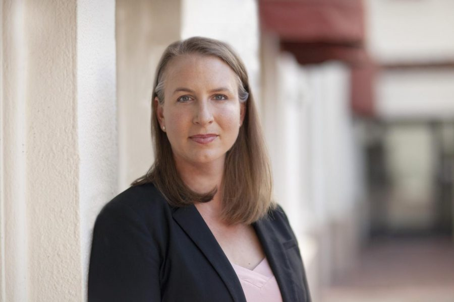 Jenny Rae Le Roux is running against 30 fellow Republicans for California governor on September 14, 2021. The election is to recall Governor Gavin Newsome over his handling of the COVID-19 pandemic. Photo credit: Courtesy of Jenny Rae Le Roux campaign