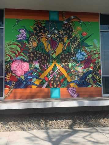 New mural on display on campus