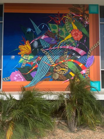 New artwork on display at Cerritos College.