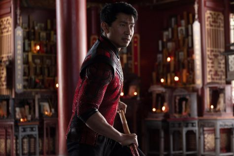 Simu Liu in the Marvel Studios film, Shang-Chi and the Legend of the Ten Rings. Photo credit: Jasin Boland/Marvel Studios/TNS