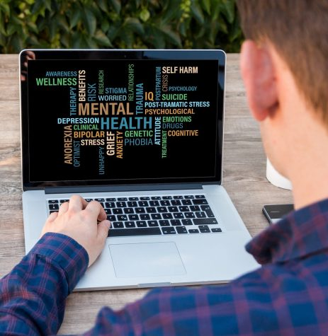 Mental health disorders are displayed on a computer screen to show the results of spending too much time on social media. Studies show social media causes deterioration of young peoples mental health. Oct. 7, 2021. Photo credit: pixabay