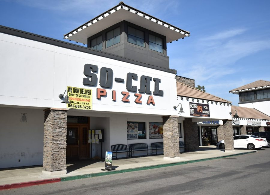 So-Cal Pizza partners with the city of Norwalk to raise money for Breast Cancer Awareness Month. The restaurant donated 20% of the proceeds to the American Cancer Society on Oct. 21, 2021. Photo credit: Vincent Medina